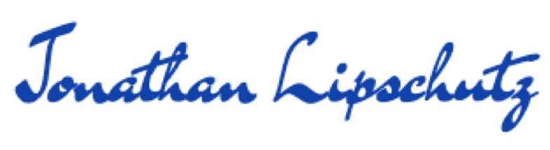 Jonathan Lipschutz signature