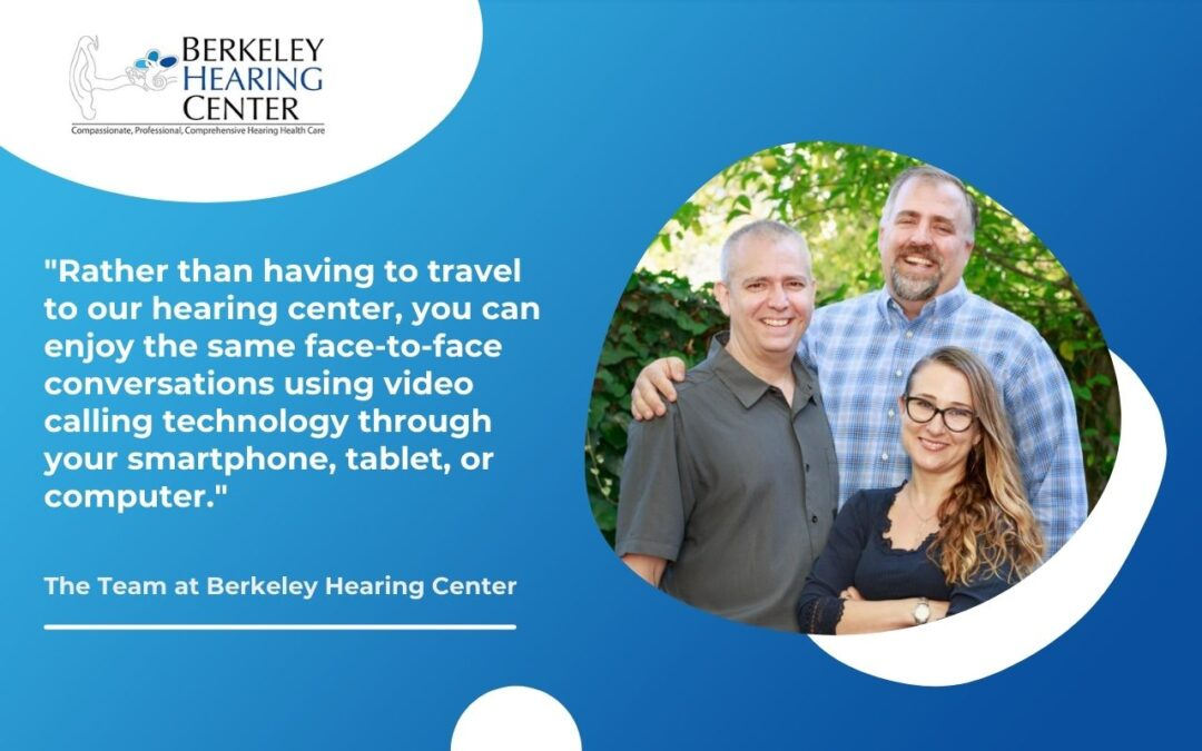 Remote Hearing Care Services in Berkeley with 'TeleAudiology'